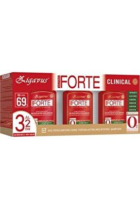 Forte Şampuan Yağlı Saçlar 300ml 3 al 2 Öde