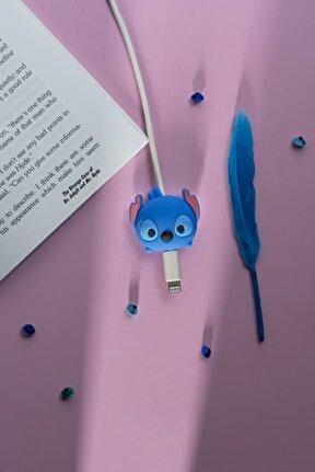 Silikonlu Stitch Kablo Koruyucu