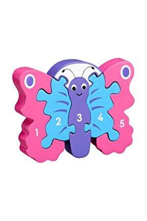 Kelebek 1-5 Ahşap Puzzle