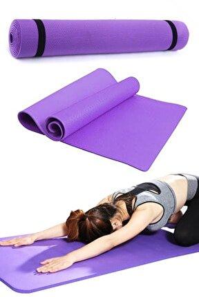 Mor Yoga Matı Pilates Minderi 140x50 cm