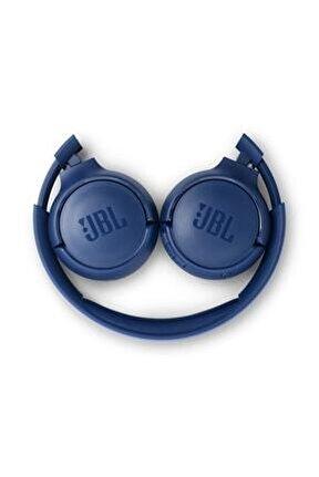 T560bt Kulak Üstü Bluetooth Kulaklık - Mavi