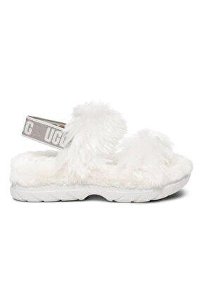 Beyaz W Fluff Sugar Sandalet