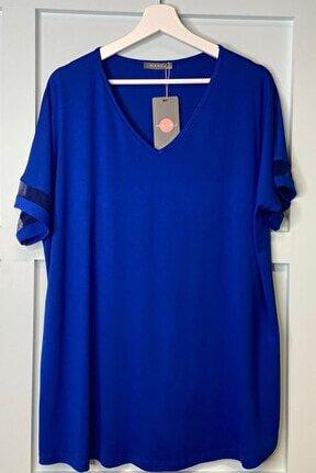 Kadın Saks Pencereli Bluz 2008
