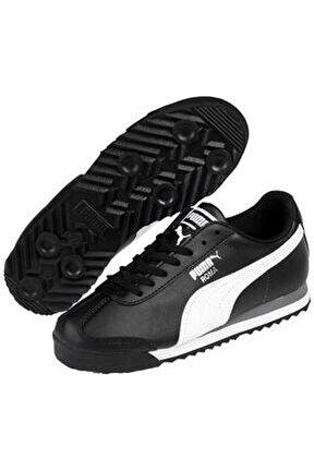 Unisex Çocuk Siyah Roma Basıc Spor Günlük Ayakkabı 354259-011