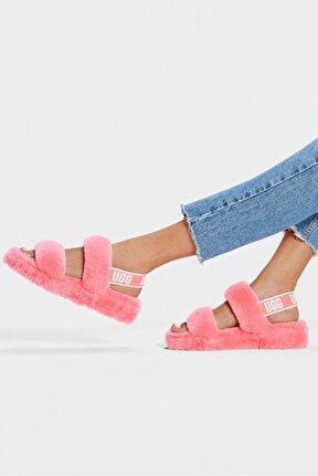Strawberry Sorbet Çılek Rengı Sandalet