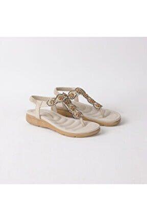 Kadın Bej Parmak Arası Sandalet 150/17