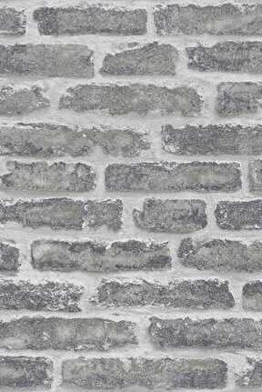 Zümrüt Esmeralda 5647 Taş Tuğla Desen Duvar Kağıdı (5,33 M²)