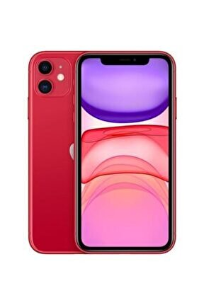 iPhone 11 64GB Kırmızı Cep Telefonu (Apple Türkiye Garantili)  Şarj Aleti Ve Kulaklık Dahildir