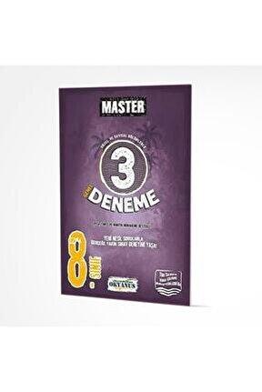8.Sınıf Lgs Master 3 Deneme