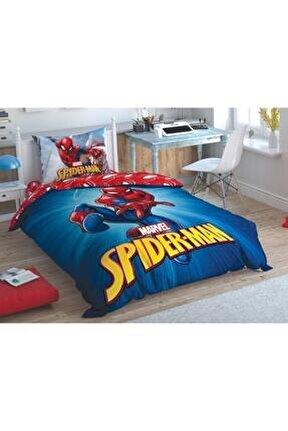 Lisanslı Tek Kişilik Nevresim Takımı Spiderman Time To Movie