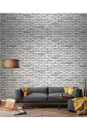 9020 Taş Tuğla Desen 2020 Model Duvar Kağıdı 5,33 m²