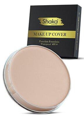 Shk01 210 Yoğun Kapatıcı Make Up Cover Porselen Fondöten Pata Krem