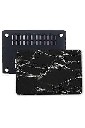 Macbook Air Kılıf 13inc Hardcase A1369 A1466 Uyumlu Mermer Desenli Kılıf 191