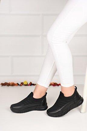 Kadın Siyah Aqua Sneaker Ba21050