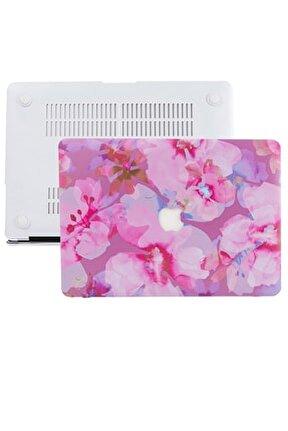 Macbook Pro Kılıf 13inc Hardcase A1706 A1708 A1989 A2159 A2251 A2289 A2338 Kılıf Flower03 1436