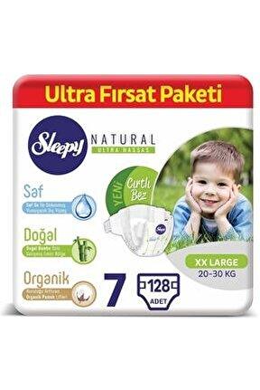 Natural Bebek Bezi 7 Numara Xxlarge Ultra Fırsat Paketi 128 Adet