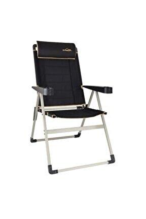 Siyah Campout Katlanır Lüx Sandalye