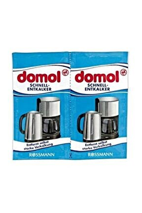 Kettle Kahve Makinesi Kireç Çözücü Toz 2'li Paket