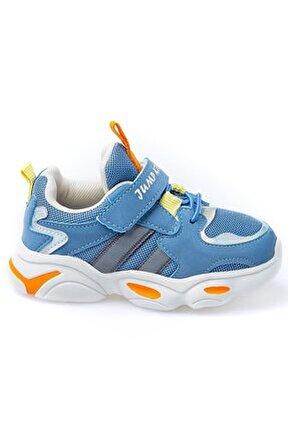 Çocuk Spor Ayakkabı 26056 G Blue/yellow/orange