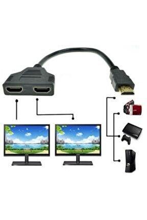 4664 2 Port Hdmi Splitter Switch Çoklayıcı Çoklu Ekran