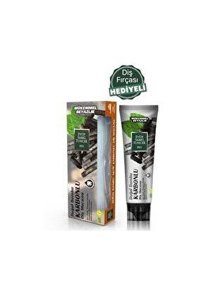 Doğal Bambu Karbonlu Diş Macunu 75 ml ve Diş Fırçası