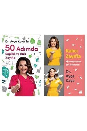 Kalıcı Zayıfla + 50 Adımda Sağlıklı Ve Hızlı Zayıfla 2 Kitap Set