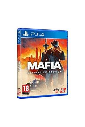 Mafia Definitive Edition PS4 Oyun