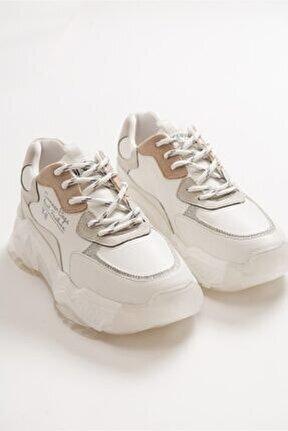 65131 Beyaz Multi Kadın Spor Ayakkabı
