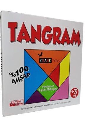 Ahşap Tangram +3 Yaş