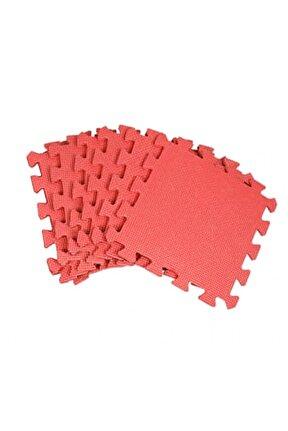Eva Yer Karosu 6 Adet Kırmızı Puzzle Oyun Karosu Çocuk Oyun Yer Matı