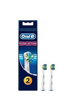 Diş Fırçası Yedek Başlığı Floss Action 2'li