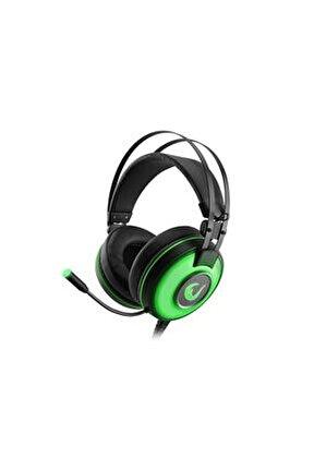 Sn-rw66 Alpha-x Usb 7.1 Surround Gaming Mikrofonlu Kulaklık Yeşil