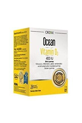 Vitamin D3 400'ıu Sprey 20ml