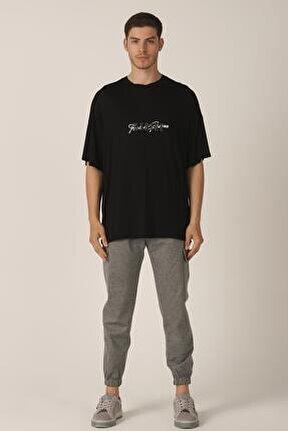 Merserize Kumaş Oversize T-shirt (e21-70800)