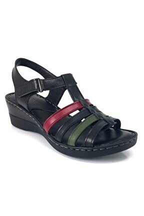 20981102 Günlük Sandalet-siyah