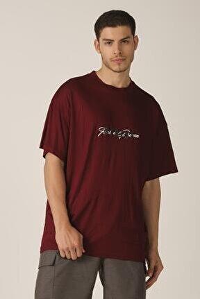 Merserize Kumaş Oversize T-shirt