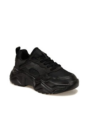 Shag Siyah Kadın Sneaker