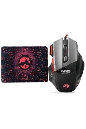 Sgm-x7 Pro 7200dpi Gaming Oyuncu Mouse + Mouse Pad Hediyeli