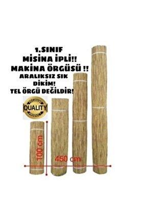 Bambu Çit Kamış Çit Hasır Çit 1x4,5 Metre Eni 1 Metre Uzunluk 4,5 Metre