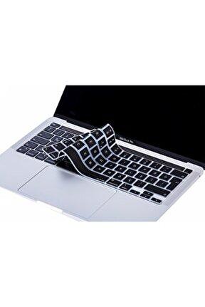 Laptop Macbook Pro Touchbar Klavye Koruyucu 13inc A2251 A2289 A2338 16inc A2141 Türkçe Baskılı 827