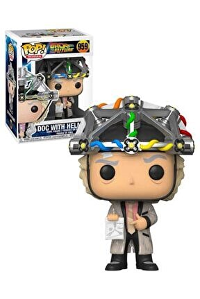Pop Figür - Back To The Future Doc With Helmet