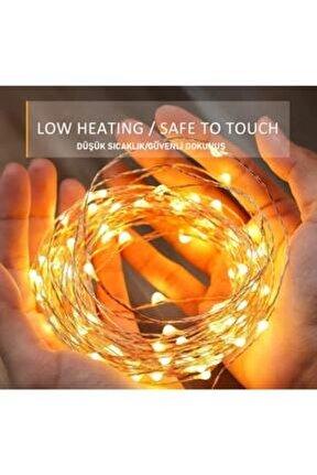 10 Metre Pilli Peri Led, Dekor Işık Günışığı, Dekoratif Led Lamba