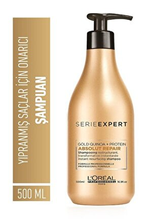 Absolut Repair Gold Quinoa +protein Yeniden Yapılandırma Şampuan 500ml Yeni