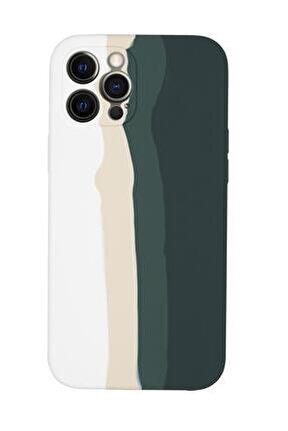 Iphone 12 Pro Max Uyumlu Kamera Lens Korumalı Forest Color Lansman Kılıf