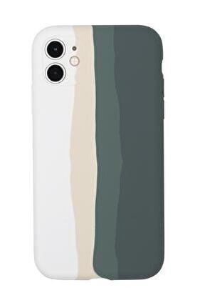 Iphone 11 Uyumlu Kamera Lens Korumalı Forest Color Lansman Kılıf