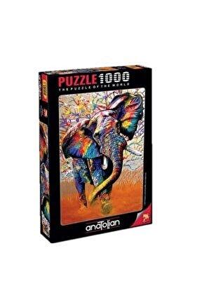 1000 Parça Afrika Renkleri 1054