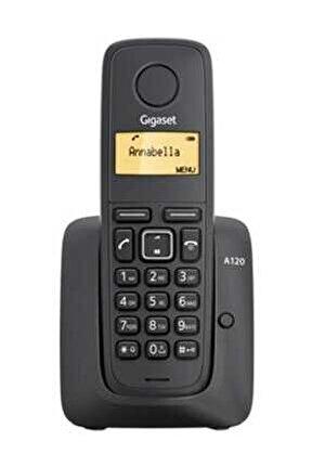 Siyah Telsiz Dect Telefon A120 -s