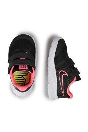 Kız Bebek Siyah Star Runner 2 Ayakkabısı-at1803-002 Sneaker