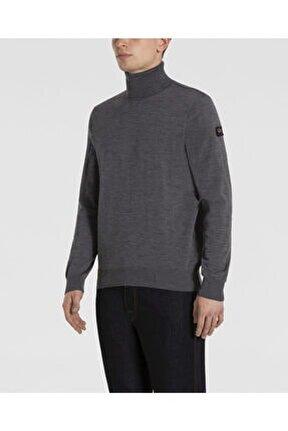 Men's Knıtted Sweater C.w.wool