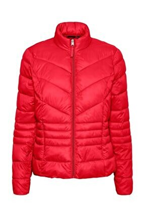Sorayasiv Aw21 Short Jacket Boos Kadın Kırmızı Mont 10247212-17